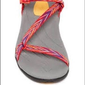 Teva Zirra Strappy Sandals size 10